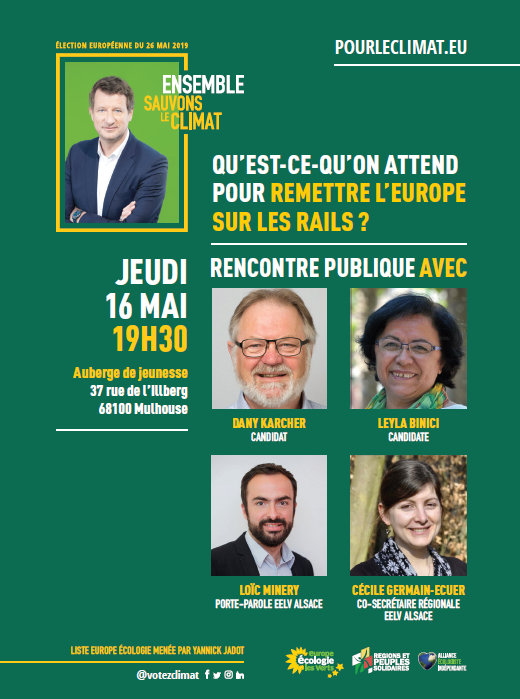 16 mai 2019 - Mulhouse- elections europeennes